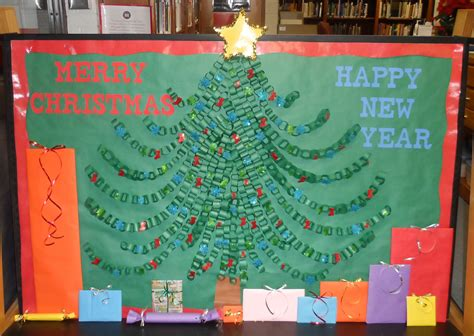 christmas tree bulletin board pics4learning