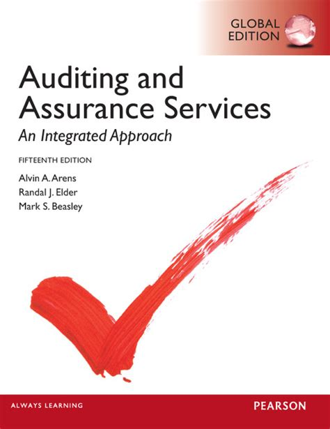 Auditing And Assurance Services 16e Arens pearson education auditing and assurance services
