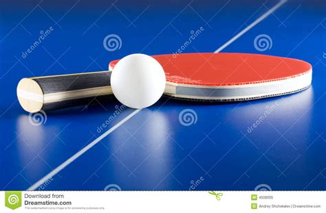 table tennis equipment royalty free stock photo image