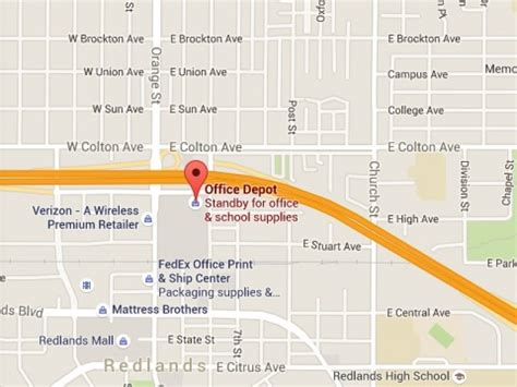 shooting at redlands office depot reported dead patch