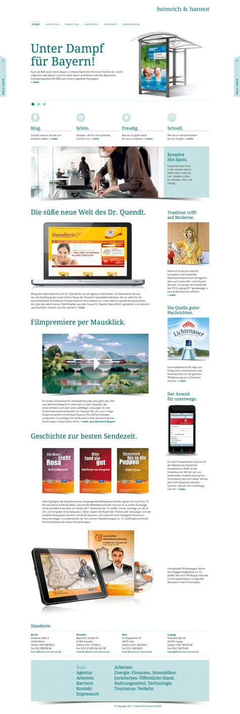 5974 best images about web site design inspiration user heimrich and hannot webdesign inspiration www