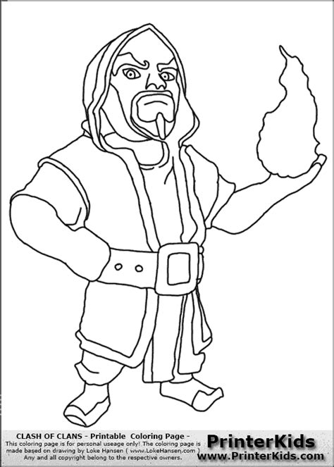 clash of clans dragon coloring page clash of clans wizard coloring page clash of clans