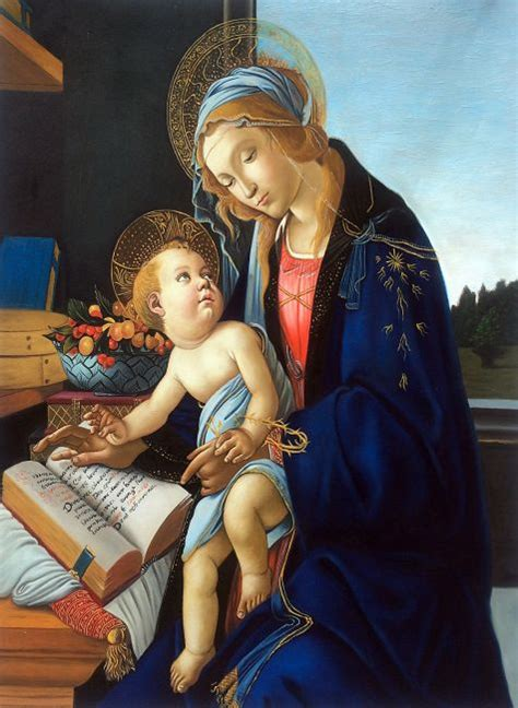 libro botticelli botticelli madonna of the book hand painted oil painting on canvas