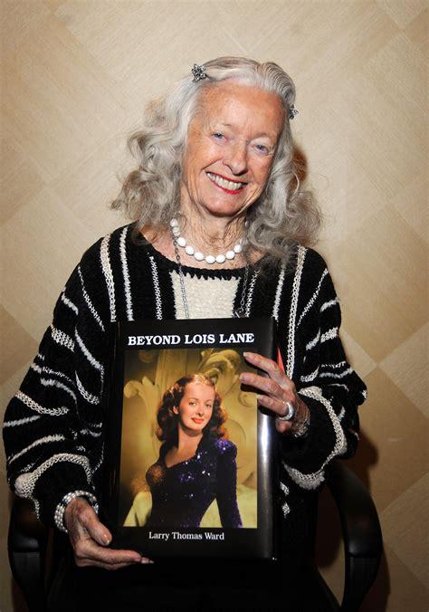 Lois Original noel neill original lois dead at 95 national enquirer