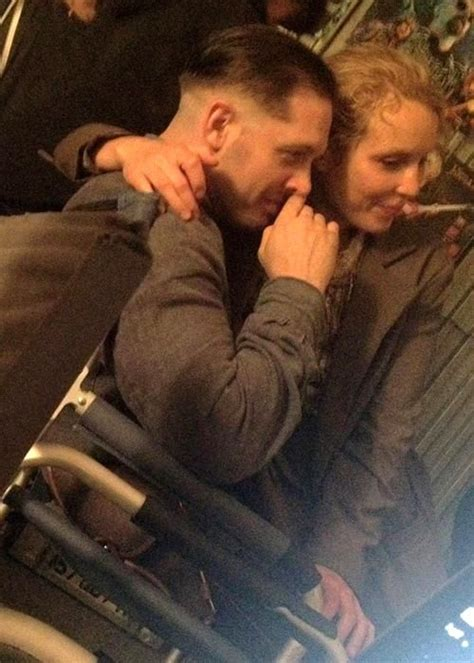 noomi rapace and tom hardy cuddle up to cute puppy while 200 best images about child 44 2015 tom hardy on