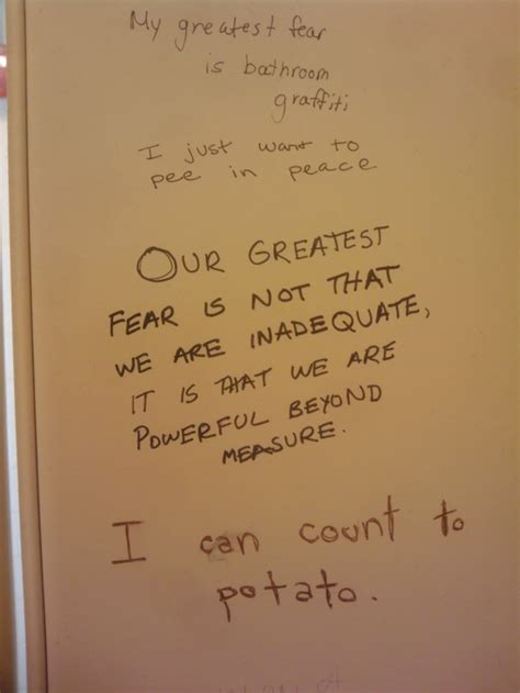 funny bathroom stall writings 24 more photos of bathroom stall wisdom pics i am bored