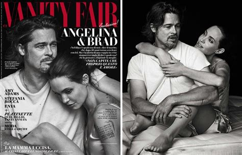 Brad Pitt Vanity Fair by Brad Pitt Gushes About His Their 6