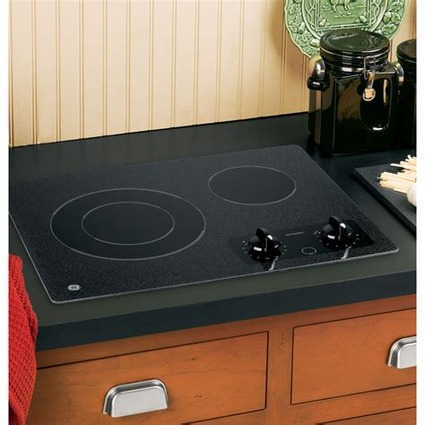 best ceramic cooktop jp256bmbb ge 21 quot ceramic cooktop black on black oliver