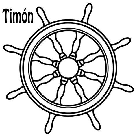 dibujos de timones imagui - Timones De Barcos Para Colorear