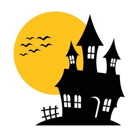 HAUNTED HOUSE VECTOR ILLUSTRATION   Download at Vectorportal