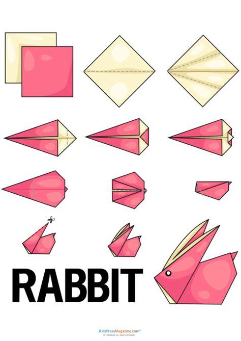 Origami Pets - rabbit easy origami animals 2016