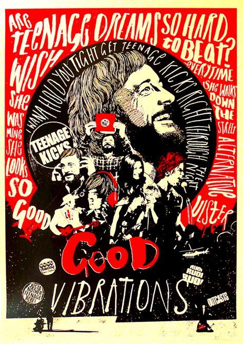 london themes vibration good vibrations print club london