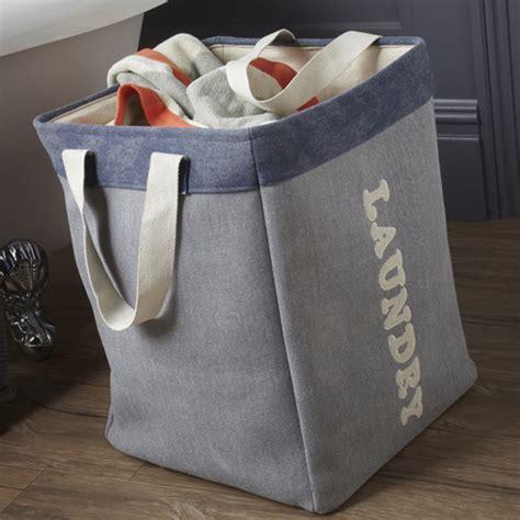 STORE   Square Canvas Laundry Bag