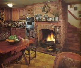 build a fireplace in your kitchen 14 jpg kitchens 10 rustic kitchen designs that embody country life