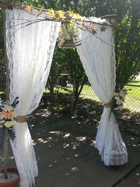 Wedding Arch Curtains by 25 Best Ideas About Dollar Tree Wedding On