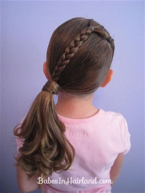 Kid Ponytail Hairstyles by Hairstyles For To Do 2017 2018 Best Cars Reviews