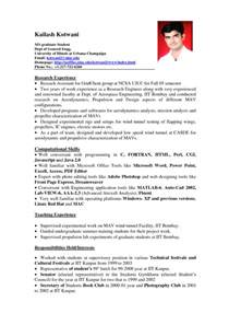 Sample Resume Format Work Experience by Sample Resume Format For Students Sample Resumes