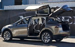 Tesla Electric Car Features New Tesla Model X Electric Car Delivers Serious Sticker Shock