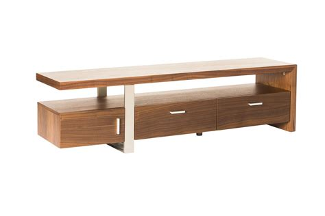 how to a tv table moe s oslo tv table in walnut beyond stores