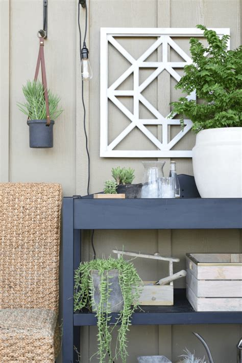 outdoor patio  living space  hanging chair