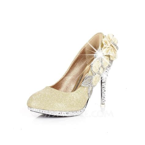 jj house shoes women s sparkling glitter stiletto heel pumps with rhinestone shoes 085026579 jjshouse