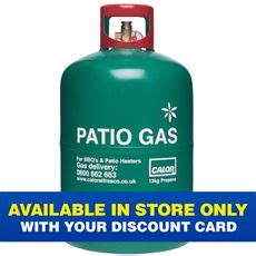 Patio Gas Refill by Calor Go Outdoors