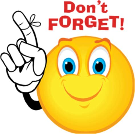 Dont Forget by Dont Forget Smiley Free Images At Clker Vector