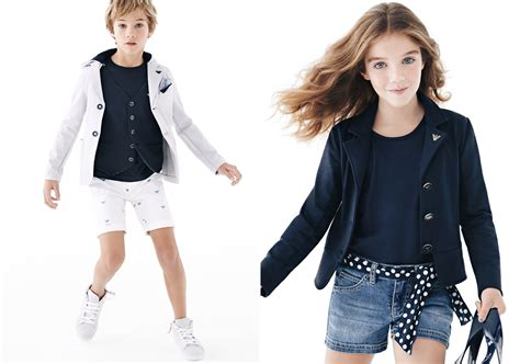 Armani Junior armani junior 2014 polka dots and solid blue fannice fashion