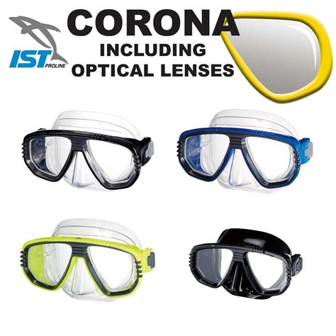 Mask Chameleon Ist Available Optical Lens ist diving mask with fitted prescription optical lenses masks spearfishingstore co uk