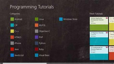 windows 10 app development tutorial using c programming tutorials for windows 10 pc mobile free