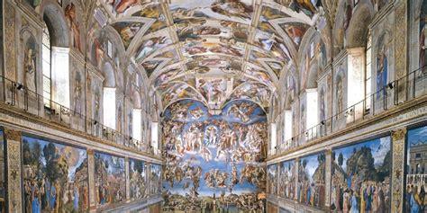 decke der sixtinischen kapelle 500 jahr jubil 228 um michelangelos fresken in gefahr