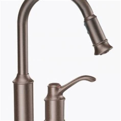 moen 7590orb aberdeen one handle high arc pulldown kitchen moen aberdeen one handle high arc kitchen faucet oil