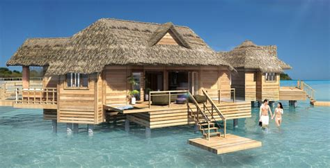 sandals adds overwater bungalows  private island resort