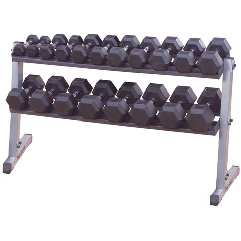 Solid Dumbbell Rack by Solid Gdr60 2 Tier Horizontal Dumbbell Rack