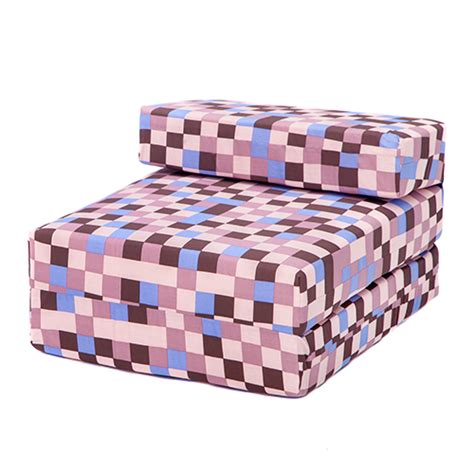 childrens foam sofa bed pixels kids foam fold out sleep over guest single futon