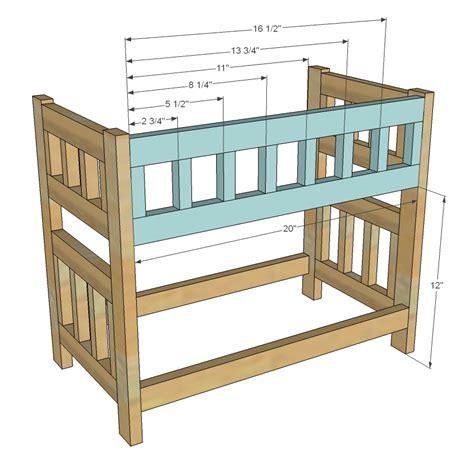woodwork    bunk bed plans  plans