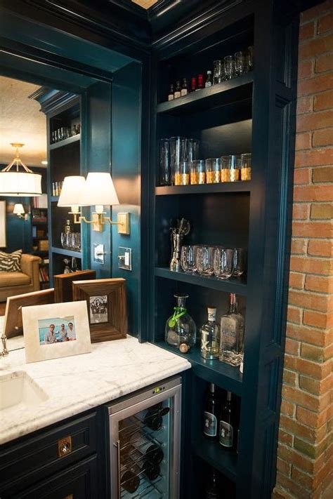 built in bar cabinets with sink view size