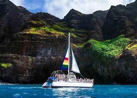 napali coast boat tours holoholo kauai boat tours deluxe niihau na pali snorkeling tour