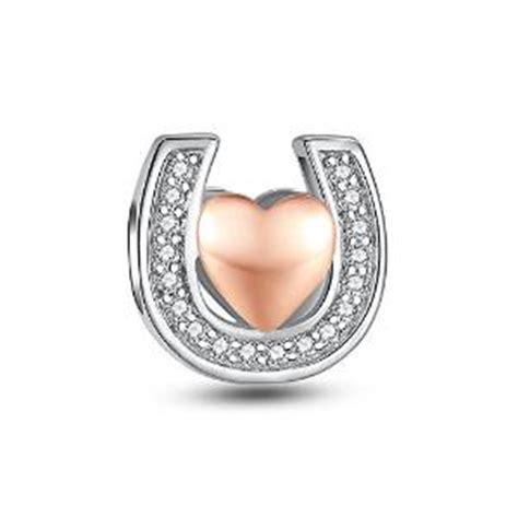 Pandora Refined Lucky Horseshoe Charms 925 Sterling Silver P 771 pandora silver lucky horseshoe charm