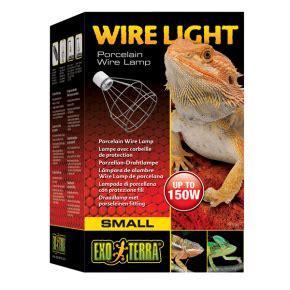 exo terra wire light small chauffage pour terrarium avec l 233 zard 233 l 233 on ou geckos