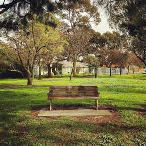park benches melbourne park bench in newport melbourne abc news australian
