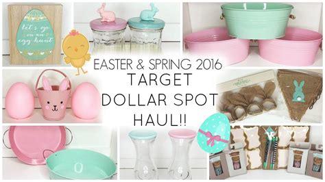 target dollar spot spring 2017 target dollar spot haul easter spring 2016 youtube