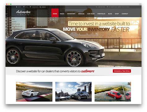 7 Best Car Websites For by Best Car Dealer Themes For Automotive Websites