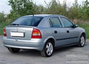 Opel Astra G 1 4 16v Opel Astra G 1 4 16v Katalog Samochod 243 W