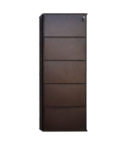 buy shoe storage shoe rack in brown buy shoe rack in brown at best