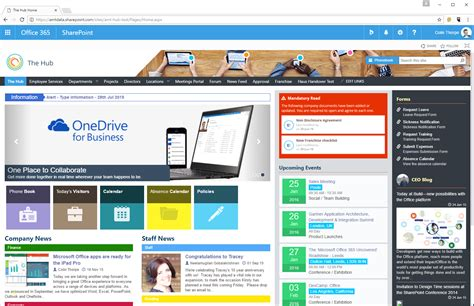 Great Sharepoint Templates Images Find The Best Sharepoint Intranet Templates Collab365 Sharepoint Intranet Templates