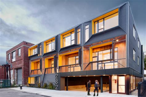 multifamily design marginal street lofts residential architect merge