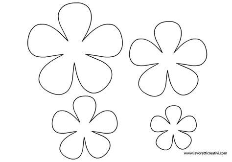 sagoma fiore sagome fiori cerca con carta modelli