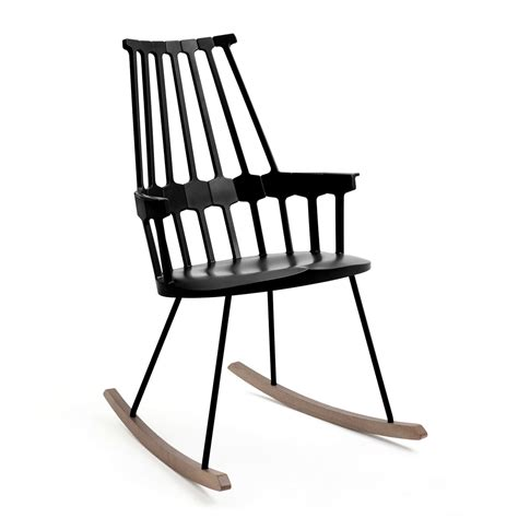 schaukel stuhl the comback rocking chair by kartell