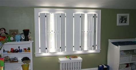 Raised Panel Interior Window Shutters by Colonial Shutterworks